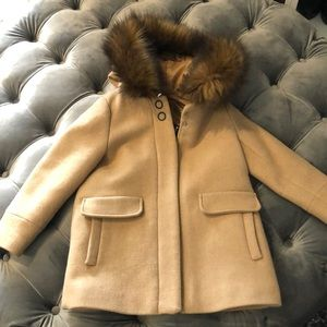 Coat with hoodie good condition
